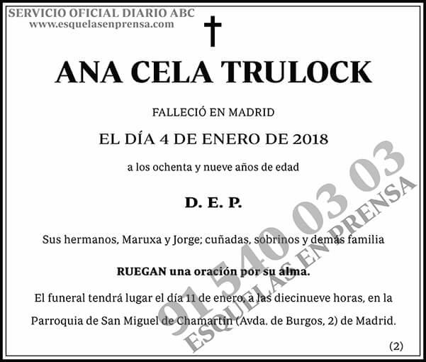 Ana Cela Trulock